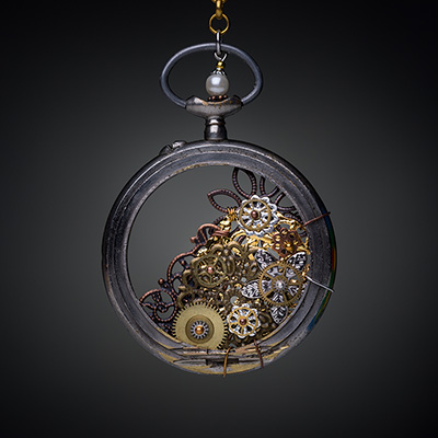 VPB - Bijoux Artisanaux Steampunk - Collection Gousset