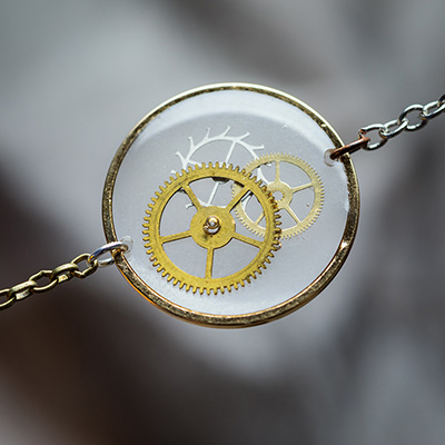 VPB - Bijoux Artisanaux Steampunk - Collection Monocle