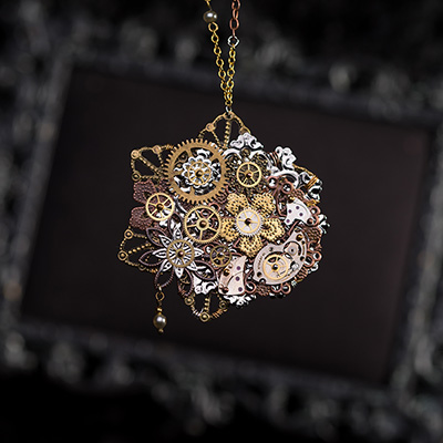VPB - Bijoux Artisanaux Steampunk - Collection Victorienne